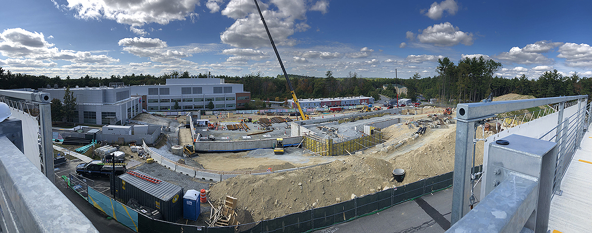 FMC, Erland Construction, The PM Group and EMD Serono work on new campus expansion project.